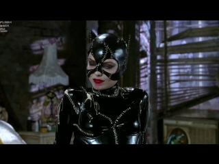 Catwoman visiting Penguin - Batman Returns (latex, bdsm, femdom, бдсм, кэтсьют, латекс)