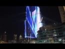 Новогоднее лазерное шоу 2018 в Дубае