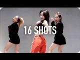 1Million dance studio 16 Shots - Stefflon Don / Minyoung Park Choreography