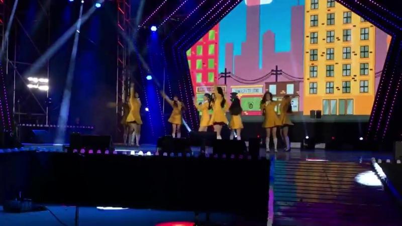 180303 프로미스나인(fromis_9)평창 패럴림픽 축하공연 투하트 직캠