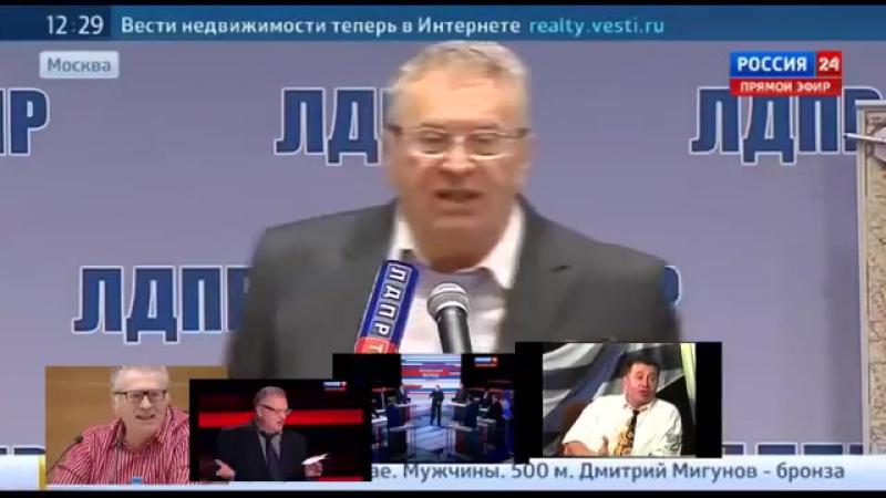 6 анекдотов от Жириновского Смешно до слёз
