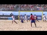 Ножницы в пляжном футболе!