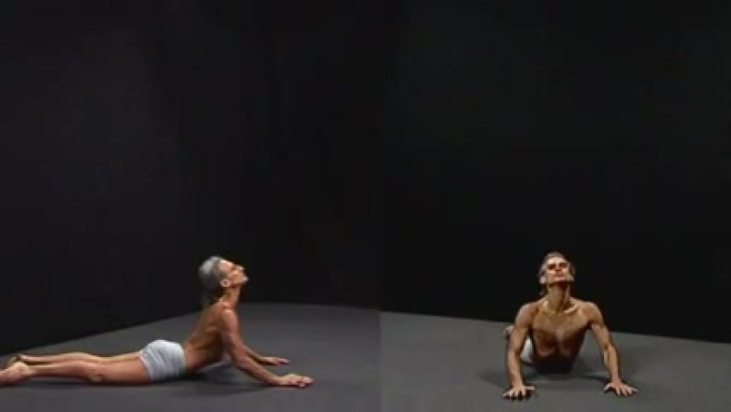 Spinal movements sequence Demonstration, by Simon Borg-Olivier