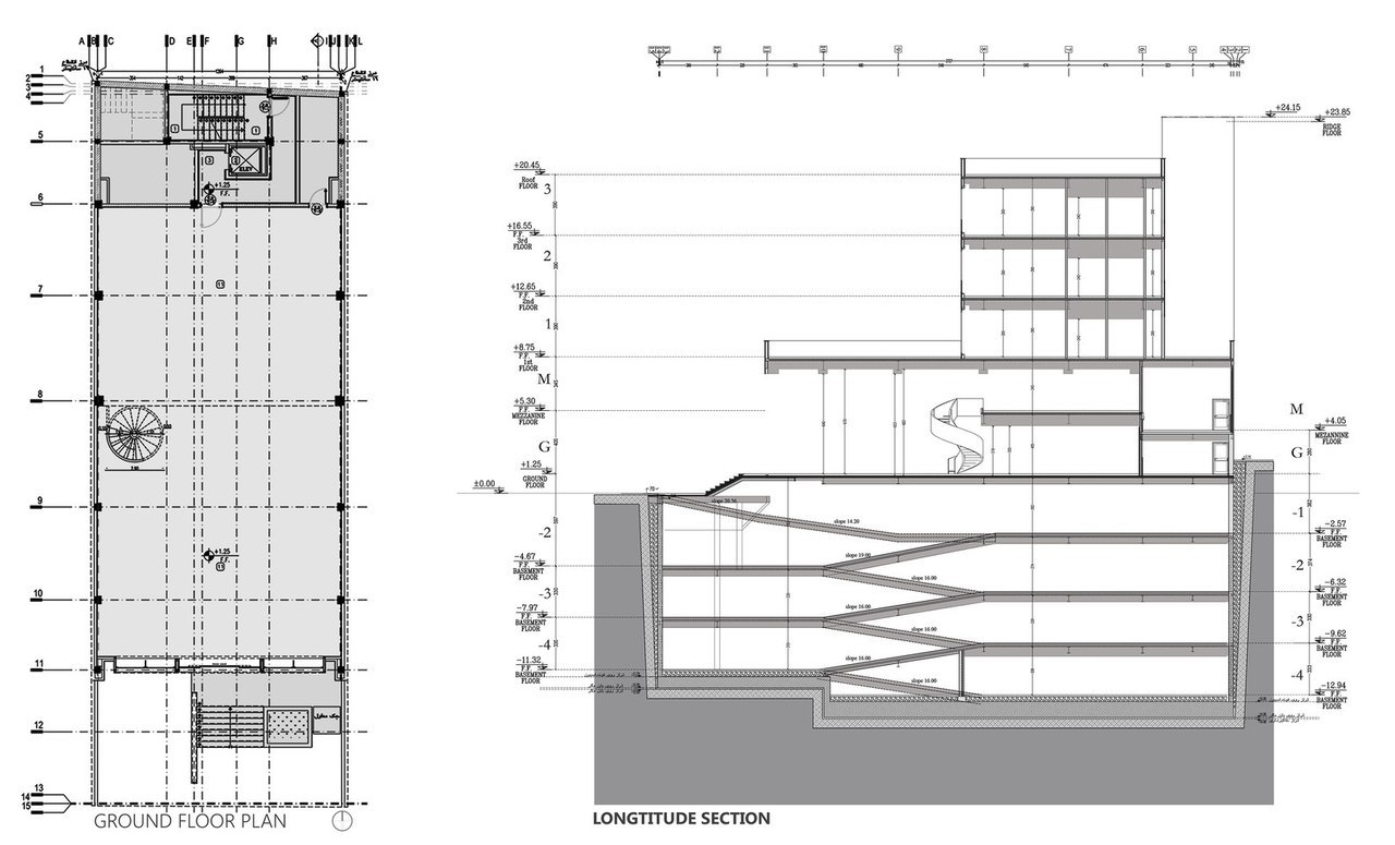 Farmanieh Commercial-Office Building / Alidoost and Partners