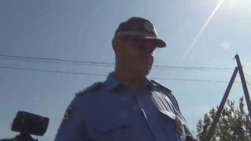 В Одессе «смешные ГАИшники» как дорожный инспектор водителя потерял.