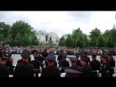 Выступление суворовцев в Александровском саду