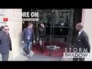Белла покидает отель «Royal Monceau» и прибывает в Гран-Пале, Париж (03.05.18)