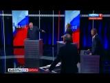 Скандальные дебаты у Соловьева. Собчак и вода VS Жириновский. ПОЛНАЯ ВЕРСИЯ (1)