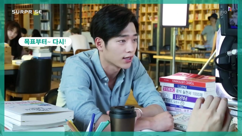 [서강준 Seo Kang-Jun] EBS 토목달 광고촬영 비하인드