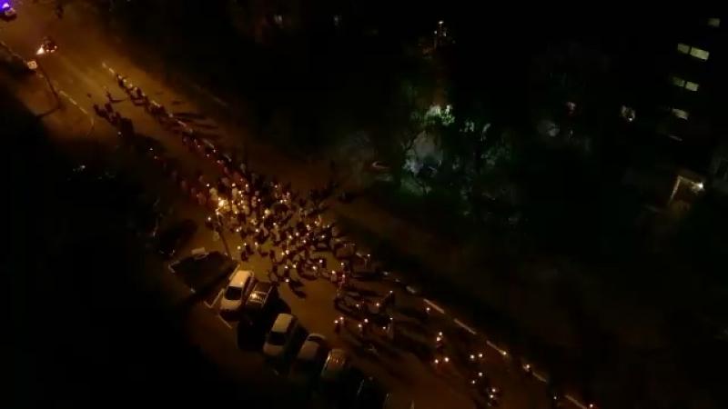 Крестный ход в Пушкино в память павших воинов на поле брани за Отечество