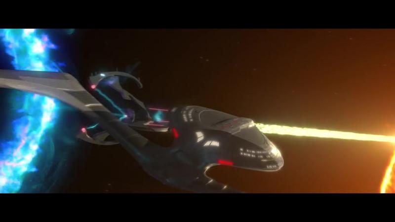 Star Trek vs Star Wars vs BSG vs Farscape vs Mass Effect vs Andromeda crossover.mp4