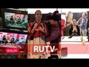 Бузова на съемках RUTV Top CHART 18-