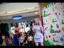 Ксения Костыря на концерте - презентации диска