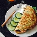 Овсяноблин + полезная начинка = лучший диетический завтрак!
