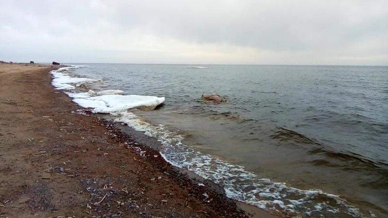 Финский залив 20.04.2018