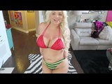 SEXY BIKINI TRY ON HAUL | Big Boobs Girl !