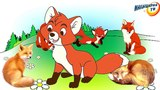 Развивающая сказка для детей и малышей - Почему лиса стала хитрой?