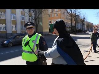 Бэтмен гуляет по Калининграду
