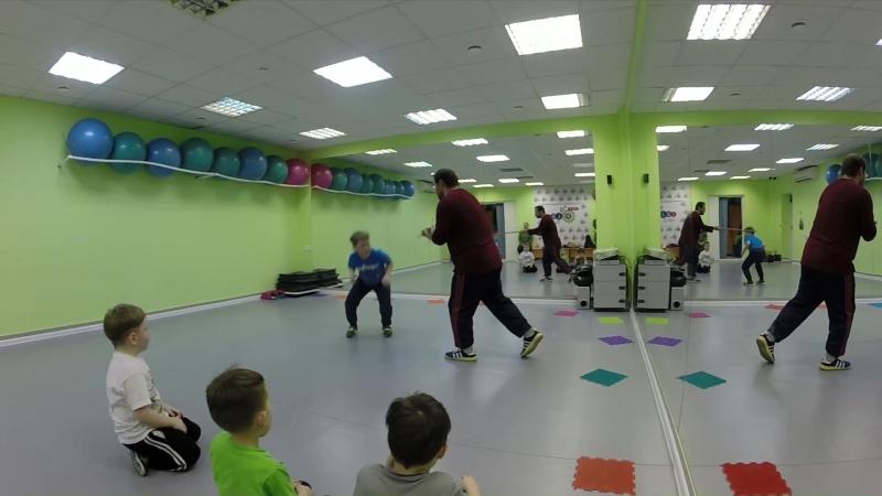 Тренировка по айкидо и самообороне в Егозе