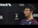 Интервью с PSG.LGD_fy после победы в финале виннеров