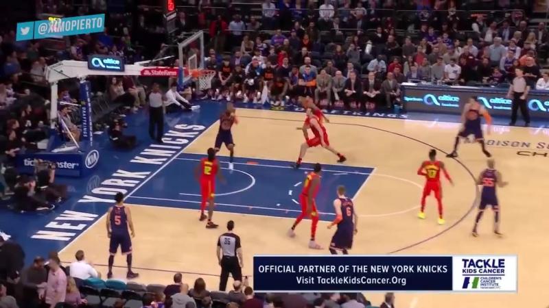 Нью-Йорк Никс - Атланта Хокс 96:99 (22:21, 16:23, 33:25, 25:30). Обзор матча (Баскетбол. НБА) 4 февраля