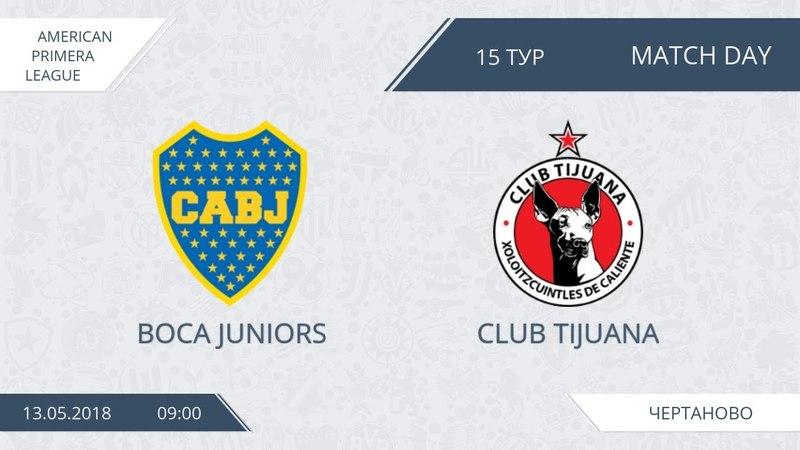 AFL18. America. Primera. Day 15. Boca Juniors - Club Tijuana
