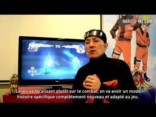 Naruto Ultimate Ninja Storm Generations - Interview Cyberconnect2 Hiroshi Matsuy