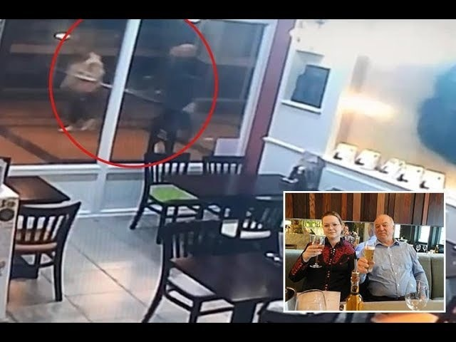 Russian spy and daughter 'seen on CCTV with mystery woman'