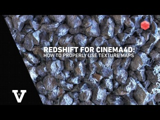 Redshift for Cinema4D: How to Use Texture Maps (Megascans, Poliigon, RDTextures, etc.)