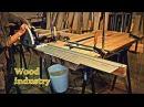 Подготовка стола «РЕКА» к заливке полимером