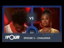 Tim vs Candice This CRAZY Battle Will Give You GOOSEBUMPS! S1E3 The Four