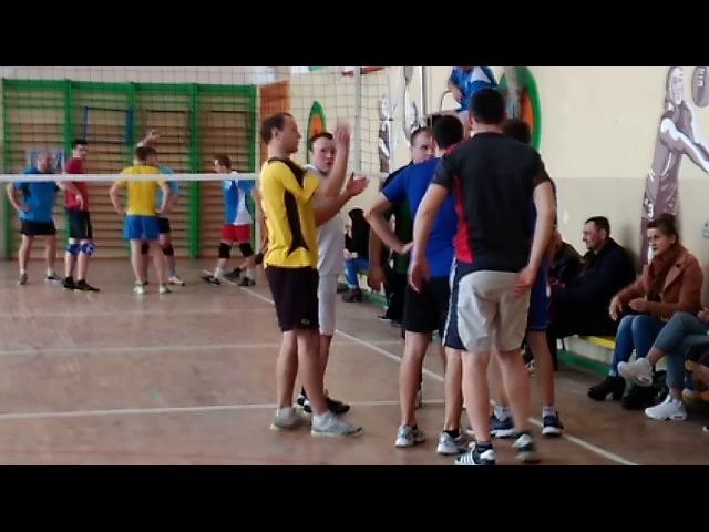 Чемпіонат району з волейболу, чоловіки, 2018. Полиці-Володимирець(центр) 20