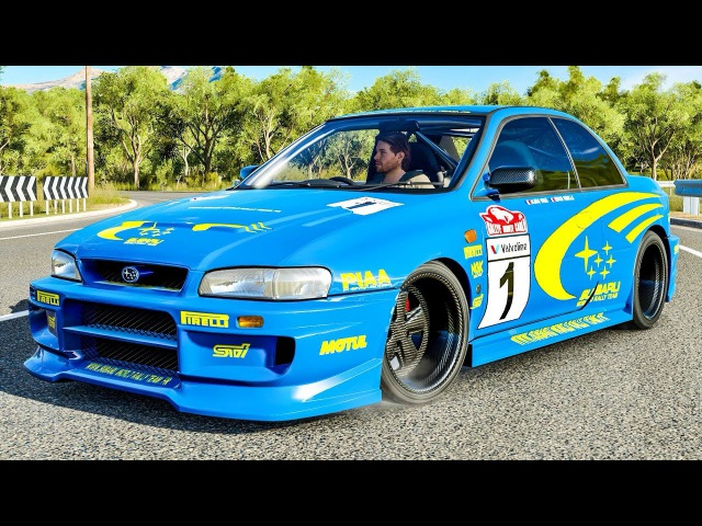 Subaru Impreza 22B STI 1998 - Forza Horizon 3 | PC Gameplay HD 1440p Thrustmaster T300 RS GT Edition