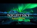 Фотопроект Яркие краски Полярной ночи | Aurora Show Polar lights Solar Storm | HD