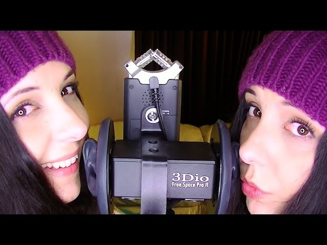 ASMR Let Me Give You SKisses! Twin Binaural SK And Kiss Sounds To Trigger Tingles Help You Relax