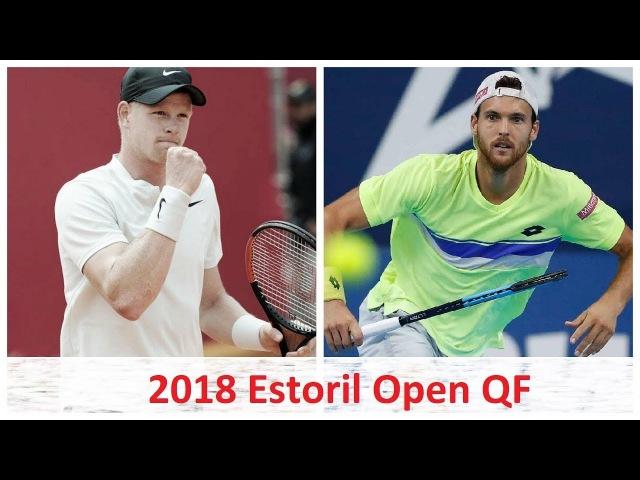 Kyle Edmund vs Joao Sousa 2018 Estoril Open QF Highlights HD