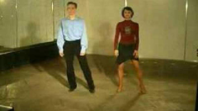 Парные танцы. Видеоурок как танцевать Ча-ЧА-Ча