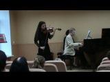 Роберт Шуман Концерт для скрипки ре минор , WoO 23 (1. Mov. )