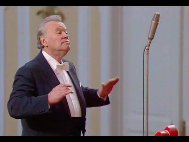 Evgeny Svetlanov conducts Mozart Symphony no. 41, Jupiter - video 1992