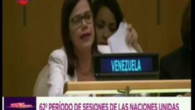 Ministra Blanca Eekhout en la ONU: Venezuela es víctima de un feróz ataque internacional