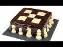 Торт Шахматный. Шоколадные коржи и нежнейший творожный крем.