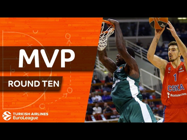 Turkish Airlines EuroLeague Regular Season Round 10 co-MVPs: Nando De Colo and James Gist