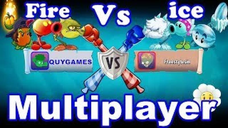 BattleZ Multiplayer FIRE Pvz 2 Vs ICE Pvz 2 in Plants vs. Zombies 2: Gameplay 2018