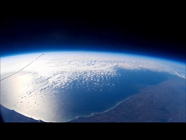 High Altitude Balloon Flight - Over 117K Feet