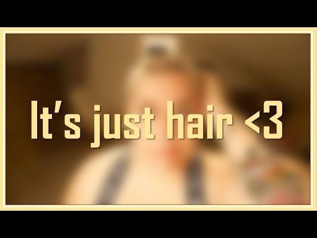 Rakar av håret   Shaving my head