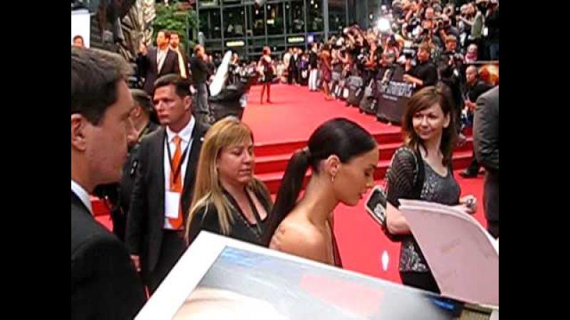 Megan Fox on the red carpet