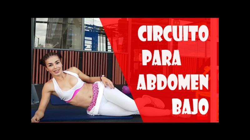 Ejercicios para abdomen bajo quema grasa y definición