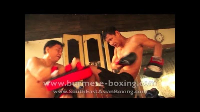 Lethwei Burmese Boxing [HD] - Lone Chaw Morning Training - Win Zin Oo's Gym - Yangon Myanmar 2011