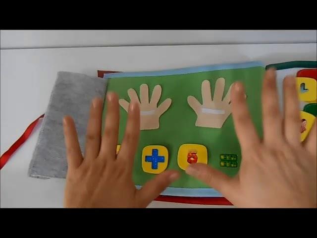 Livro Sensorial by Dani - Livro com 14 atividades