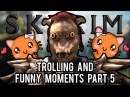 Skyrim Trolling Funny Moments Part 5